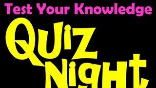 Fundraising Quiz Night