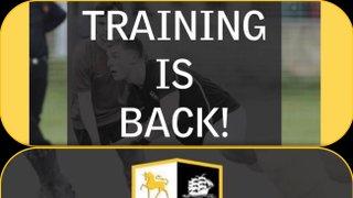 Pre Season Training & Club / Trials day