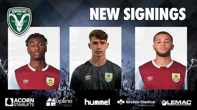 Squad Boosted by New Signings from Burnley's U18s Squad