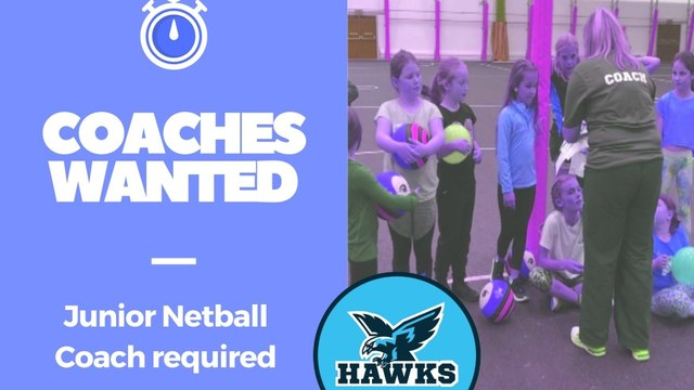 Inspiring youth coach wanted!
