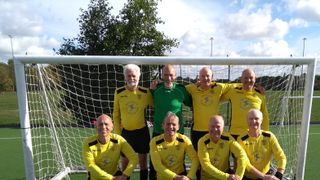 Rotherfield United Walking Football Team - Maidenhead Tournament - 28/09/18