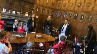 Lord's Mayor: Parlour Visit