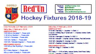 SHC Red'Un 9 March 2019