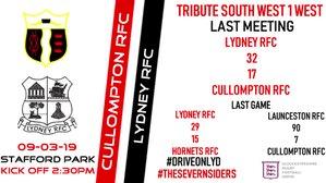 Cullompton vs Lydney