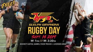 Guelph Gryphon Rugby Day