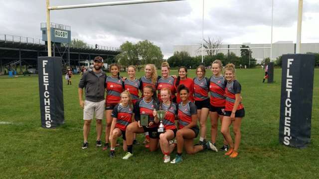 Junior Gryphons Win TIRF Fall 7s Tournament