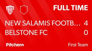 Match Day 36 Result : New Salamis 4 - 0 Belstone