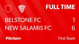 Match Day 37 Result : Belstone FC 1 - 6 New Salamis FC