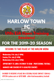 U18 EJA Open Training Sessions