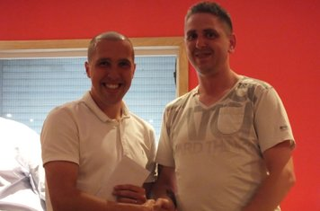 UNITED CLUB Player of the Year Michael Gemmell