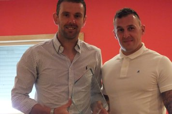Players Player of the Year Stuart Hunter