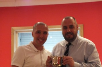 Committee Player of the Year Michael Gemmell