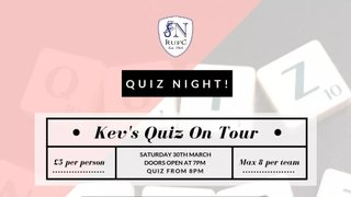 Kev's Quiz On Tour