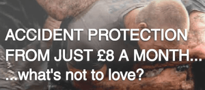 Rugby Accident Protection Insurance from £8 a month
