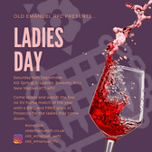 Ladies Day at the first 1st XV Home game of the season v Eastleigh