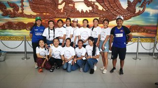 Sandy Bay/Segantii sponsored Lao Nagas Team Arrives in Hong Kong for All Girls International Rugby Sevens Tournament