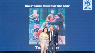 Tanya Dhar | HKRU Girl's Youth Coach of the Year