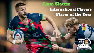 Liam Slatem Wins International Players Player of the Year