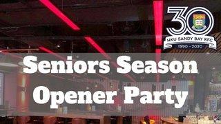 Seniors Season Opener Party | Rula Live | 5th October