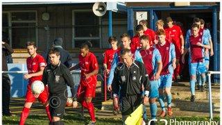 Milton United 1st Team v Binfield - 31st October 2015