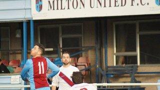 Milton United 1st Team v Tuffley Rovers 5th December 2015