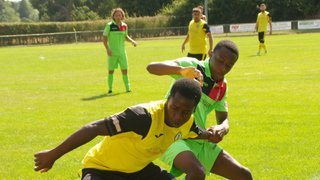 Egham Town head home with the win after a hotly contested 1-0 win.