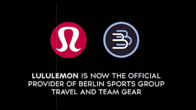 Berlin Sports Group partners with Lululemon