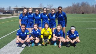 Berlin Academy 2002 Girls wins on their first ever game