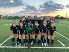 Berlin Academy XI Girls ties King City Royals on the road