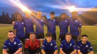 Berlin Academy XI Boys ties 4-4 against Caledon U21 in an eventful match