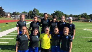 Berlin Academy 2002 girls ties Perth Predators 2-2