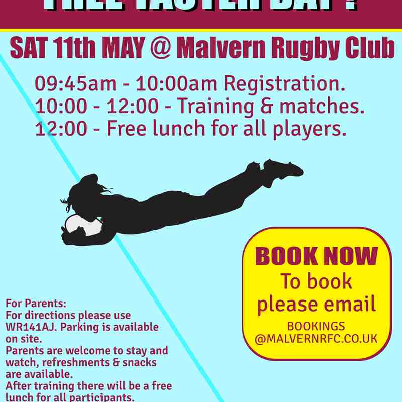 Girls touch rugby