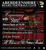CLUB EVENT | HOGMANAY WITH 'SHIRE