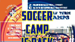 Luton Town FC SOCCER CAMP returns to Leighton United