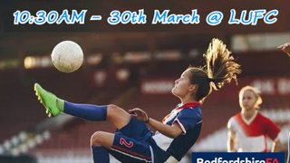 SAVE THE DATE: U14 Girls Challenge Cup Finals