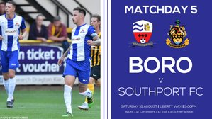 PREVIEW: Southport (Saturday 18th August 2018)