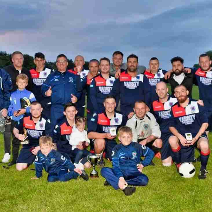 Busmen win the Bwlch Car Boot Trophy