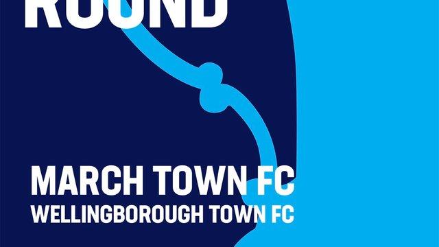 FA CUP v Wellingborough Town FC