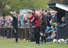 Adam Gusterson departs as manager of league leaders Harleston Town FC.