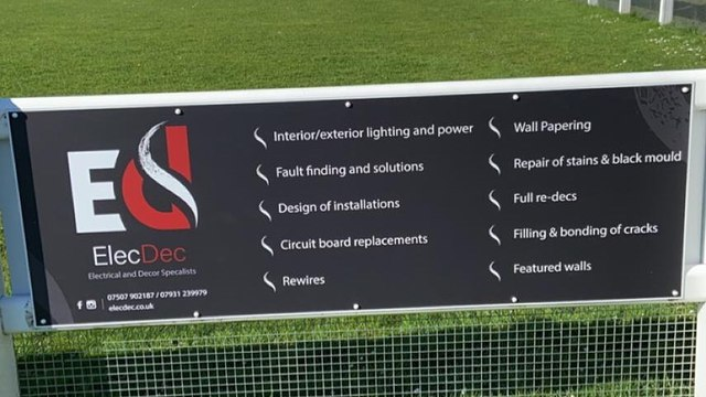 Pitch side Board