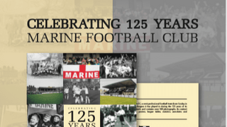 BOOK CELEBRATING 125 YEARS OF MARINE FC - NOW ON SALE!