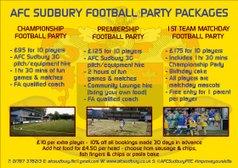 Football Parties