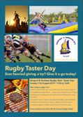 Media Release: Rugby Taster Day