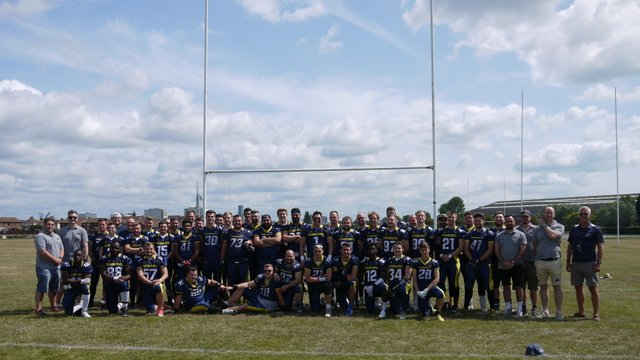 Portsmouth Dreadnoughts came to Gosport Park