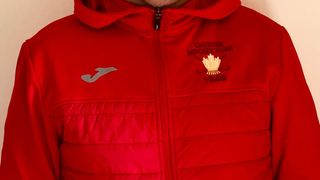 Availability of Red Hooded Jackets