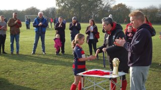 MF U7s v Methley Utd U7s (Cup Final) - 17th Nov 2018
