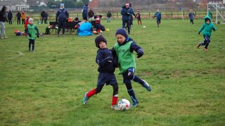 Ulleskelf Juniors v Stags under 7's 15.12.18