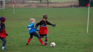 North Duffield Dragons v Monk Fryston United under 7's 19th January 2019