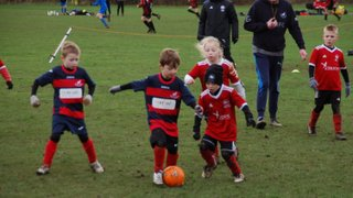 Monk Fryston United v Methley United Under 7's Sat 26th January 2019.