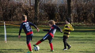 Moorends Hornets and Stingers v Monk Fryston United under 7's 16.02.19